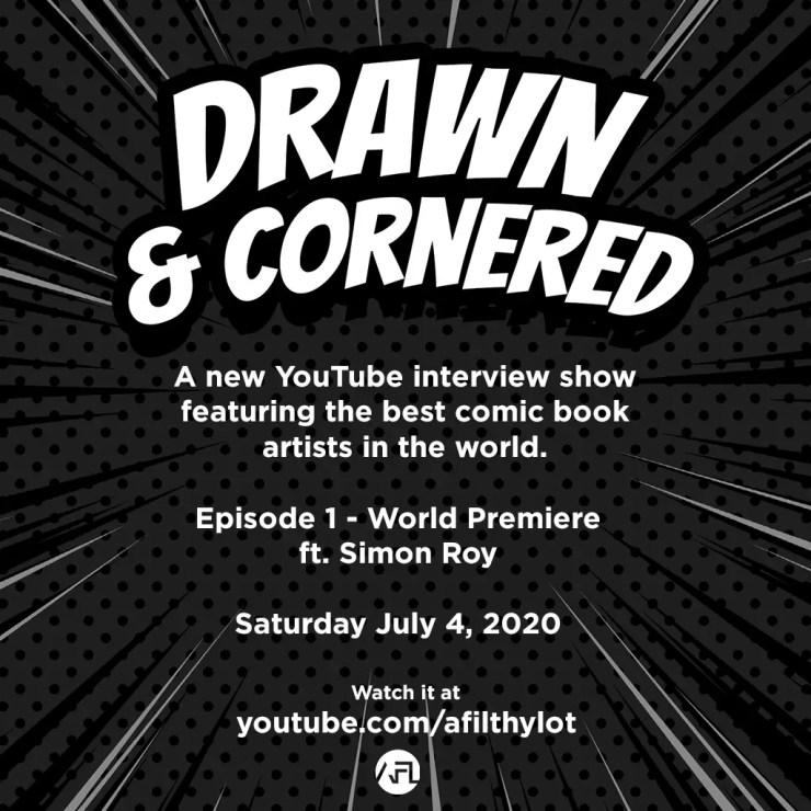 Drawn & Cornered comic book interview