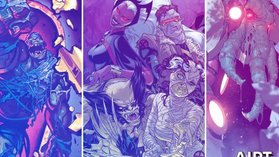 Marvel Comics reveals monstrous variant covers for October.