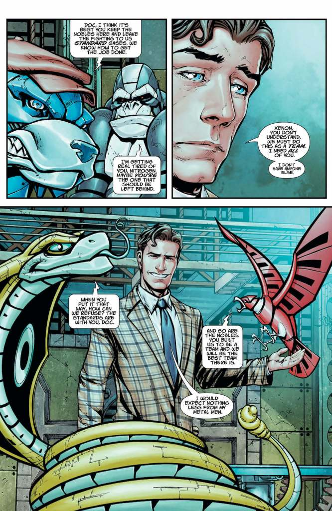 DC Preview: Metal Men #8