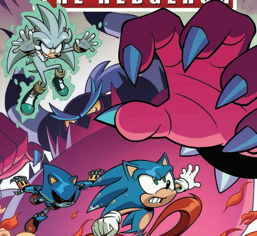 Sonic and friends against the Metal Virus: This is it!
