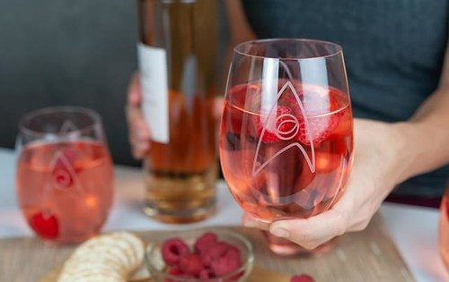 Boldly go where no rosé has gone before.