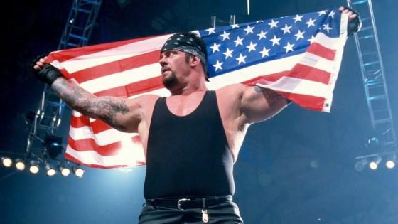 patriotic wrestlers