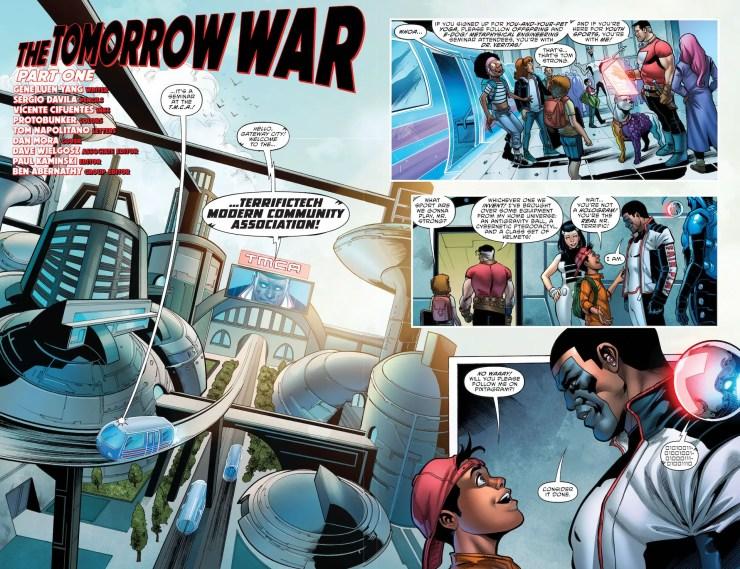 In The Terrifics #28, Simon Stagg is dead!