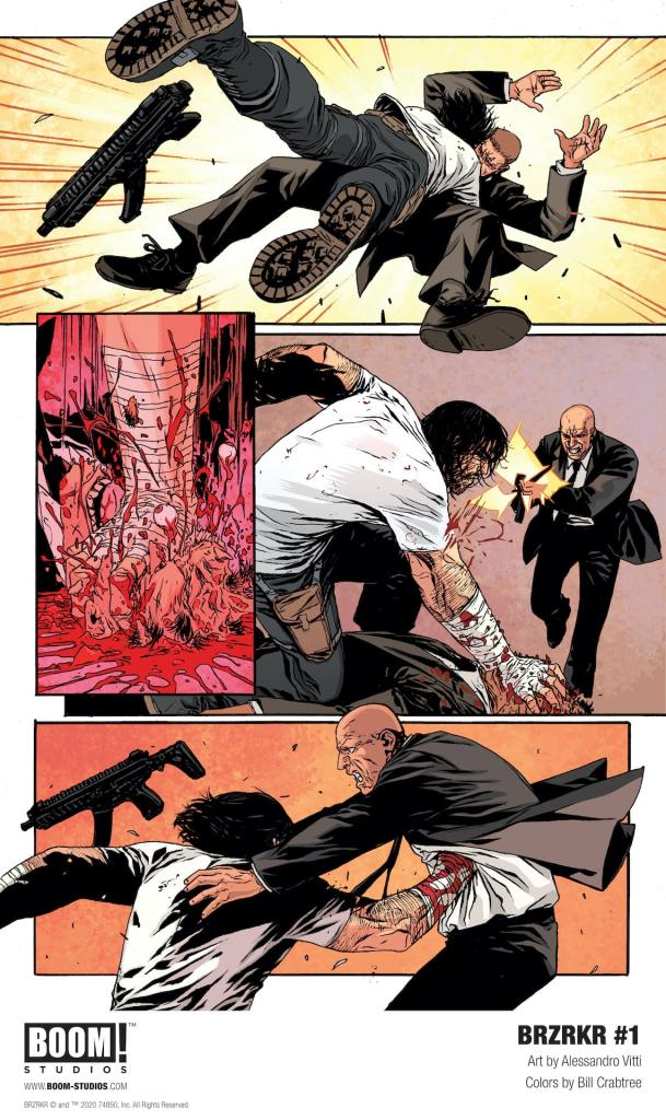 BOOM! Studios unleashing Keanu Reeves-written BRZRKR #1 in October 2020