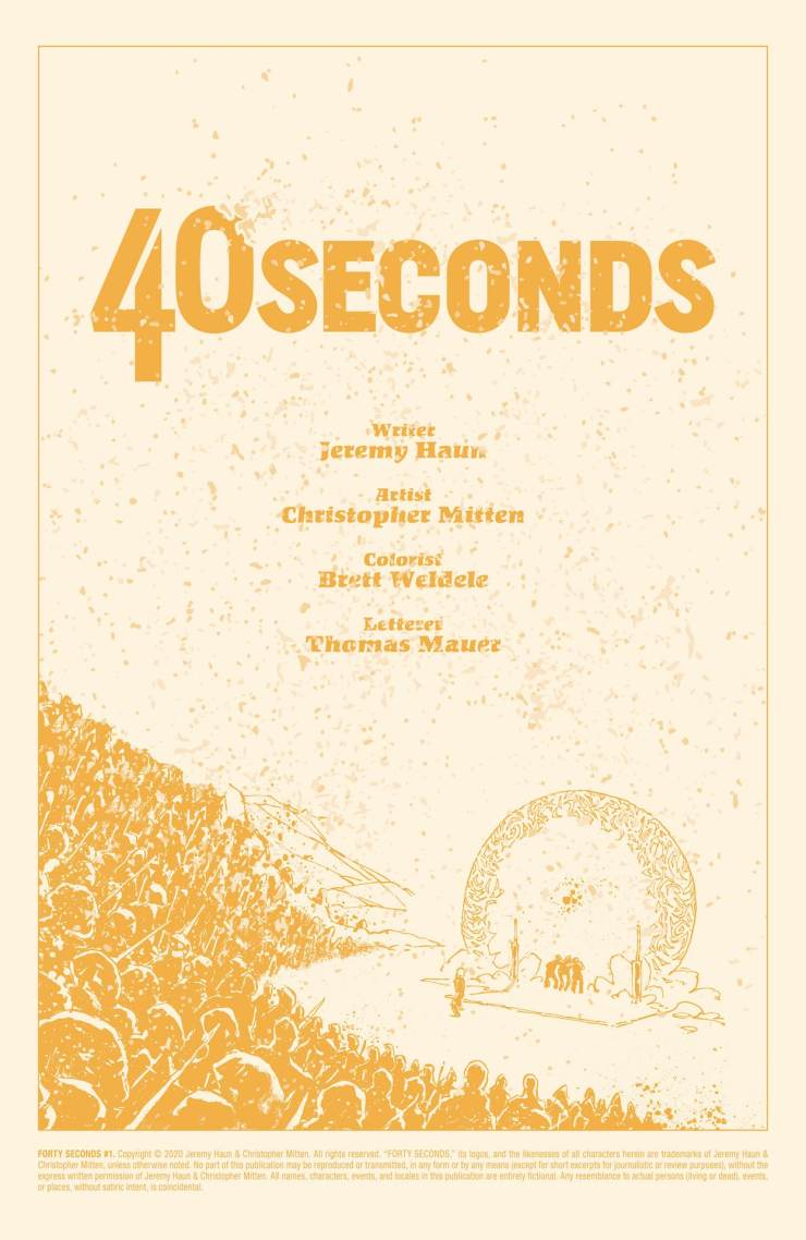 ComiXology Originals First Look: '40 Seconds' a sci-fi adventure comic series