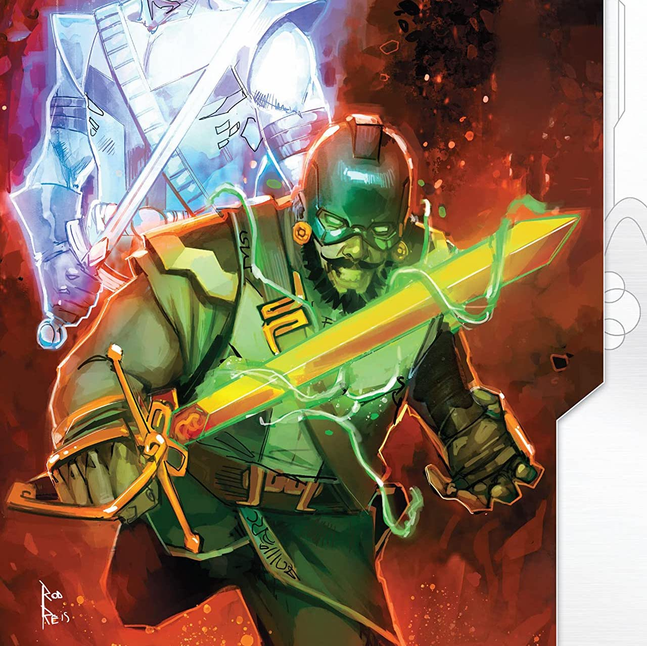 'Lords of Empyre: Swordsman' #1 review