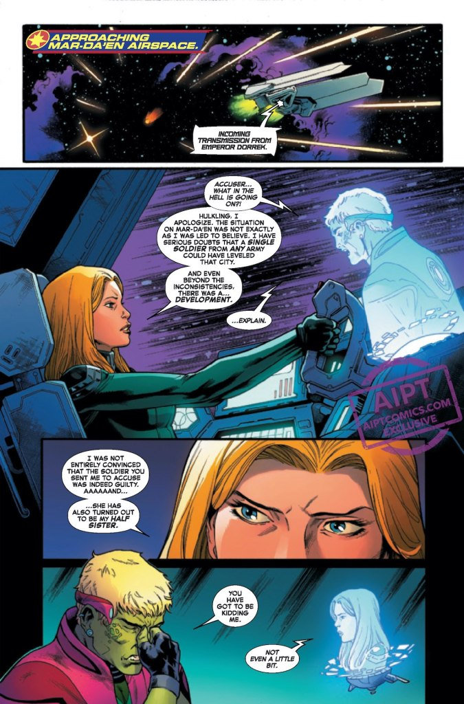 Kelly Thompson Captain Marvel