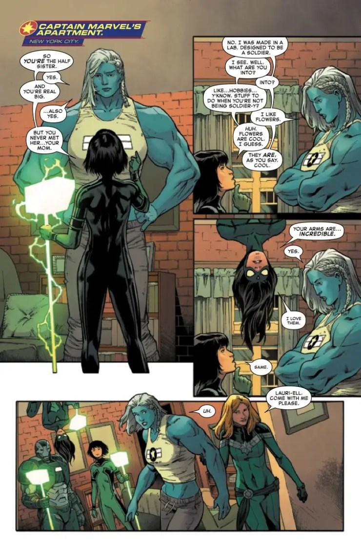Marvel Preview: Captain Marvel #20