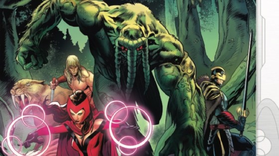 Earth's Mightiest Heroes fight an intergalactic foe on three fronts!