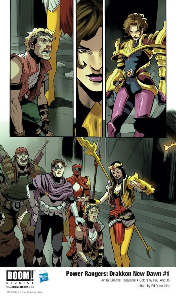 BOOM! First Look: Power Rangers: Drakkon New Dawn #1