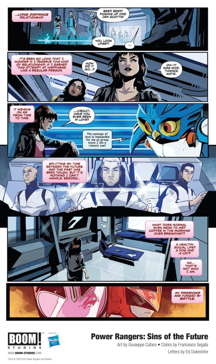 BOOM! Preview: Power Rangers: Sins of the Future #1