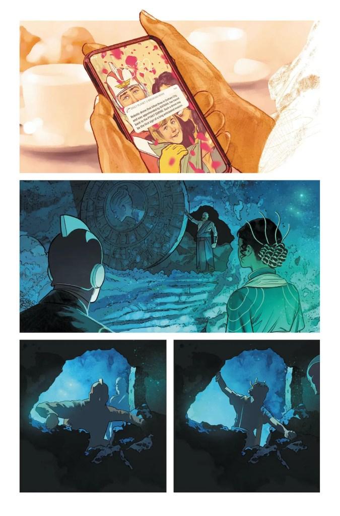 DC First Look: Strange Adventures #5 (unlettered)