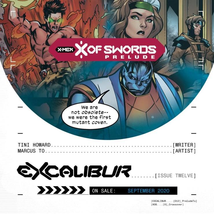 Excalibur X of Swords