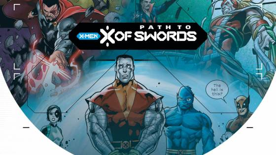 Colossus is on trial in the new path to X of Swords teaser.