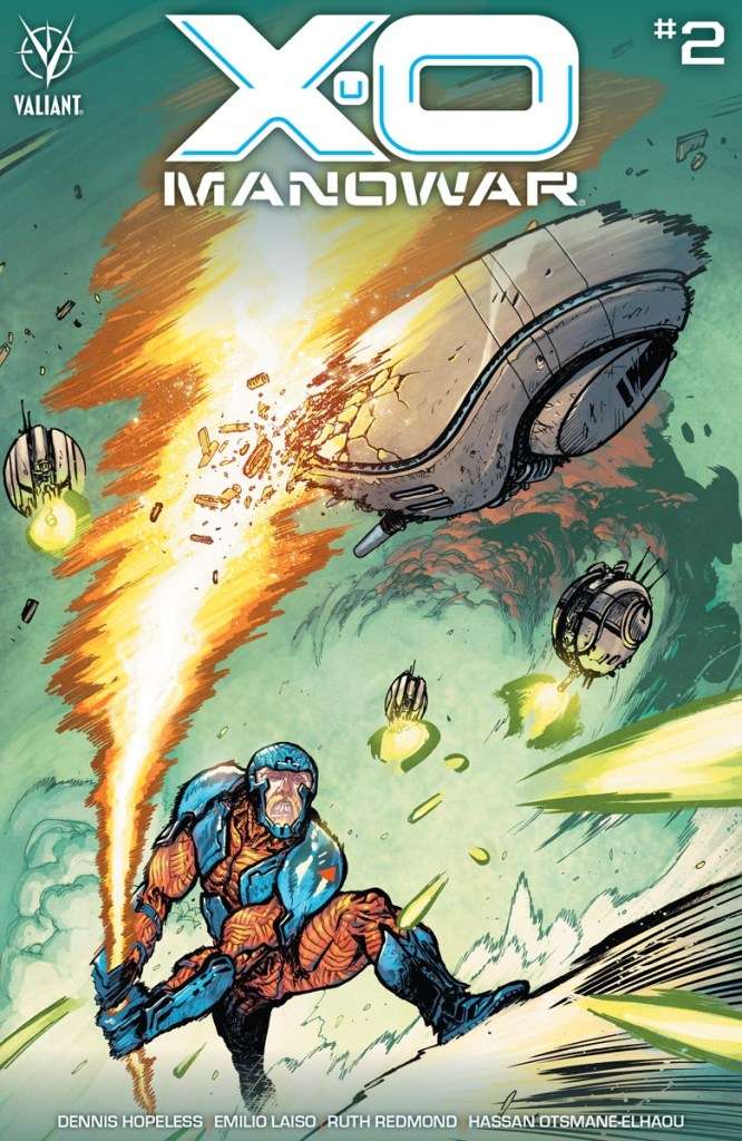 Valiant First Look: X-O Manowar #2 returns this November