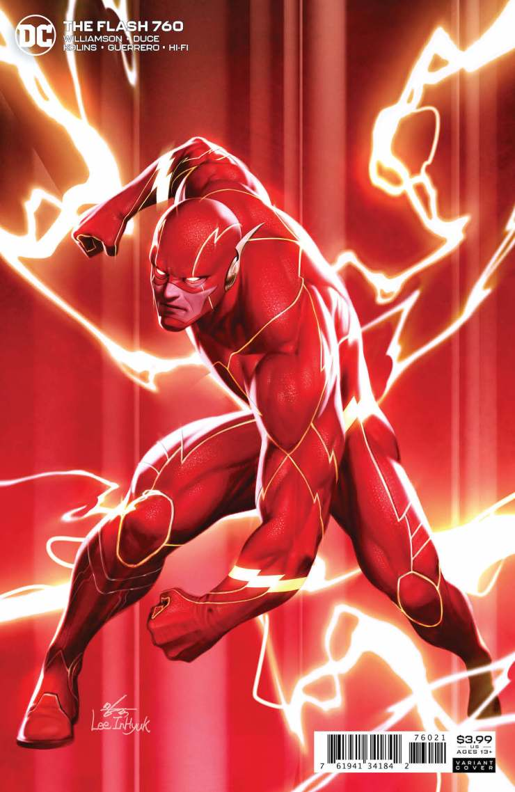 DC Preview: The Flash #760