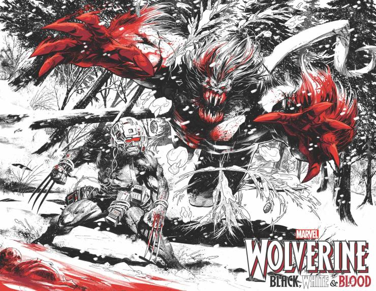 Wolverine: Black, White & Blood