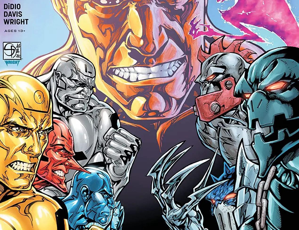 'Metal Men' #10 review