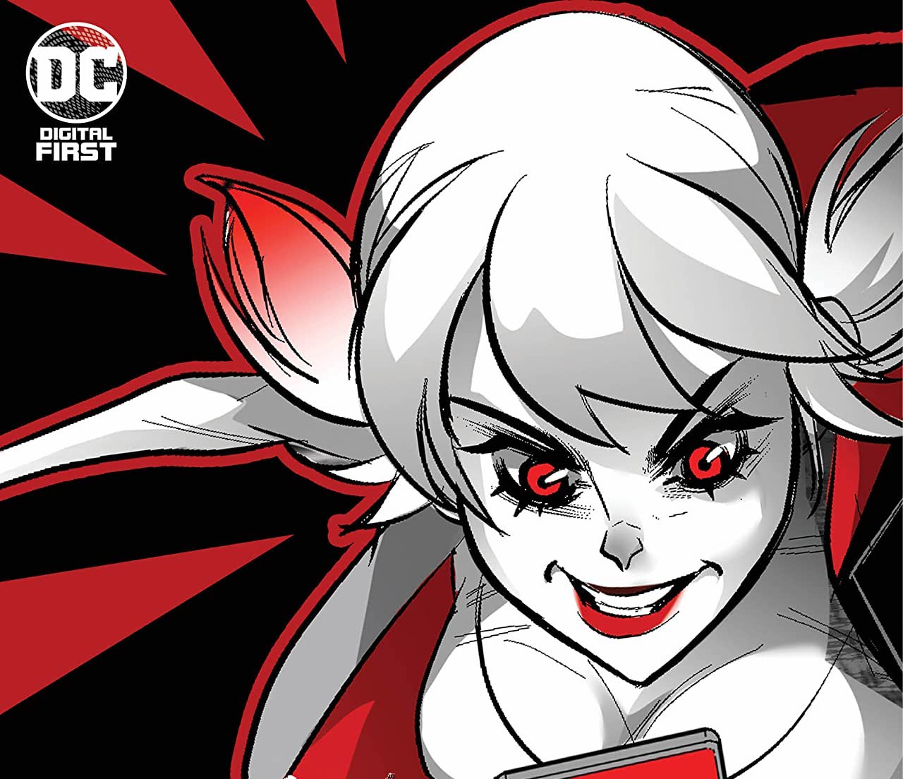 'Harley Quinn Black + White + Red' #13 review