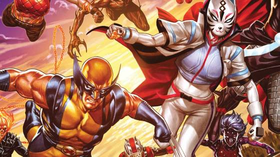 Celebrate Fortnite and Avengers with new Mark Brooks cover!