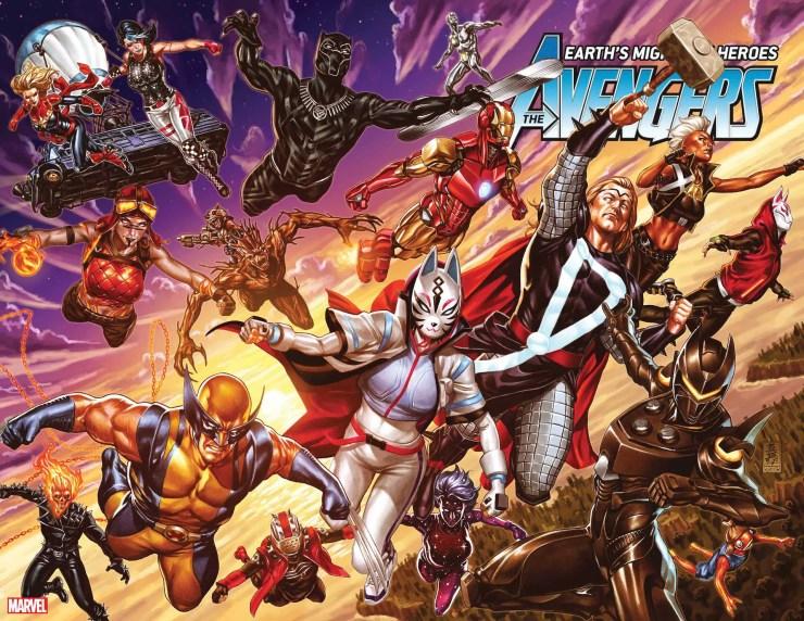 Mark Brooks Avengers #37