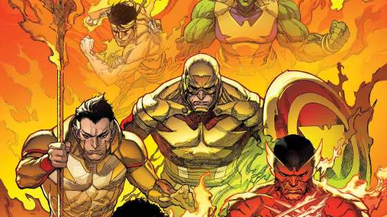 Leinil Francis Yu's cover shows off Wolverine, Namor, and more weilding the Phoenix Force!