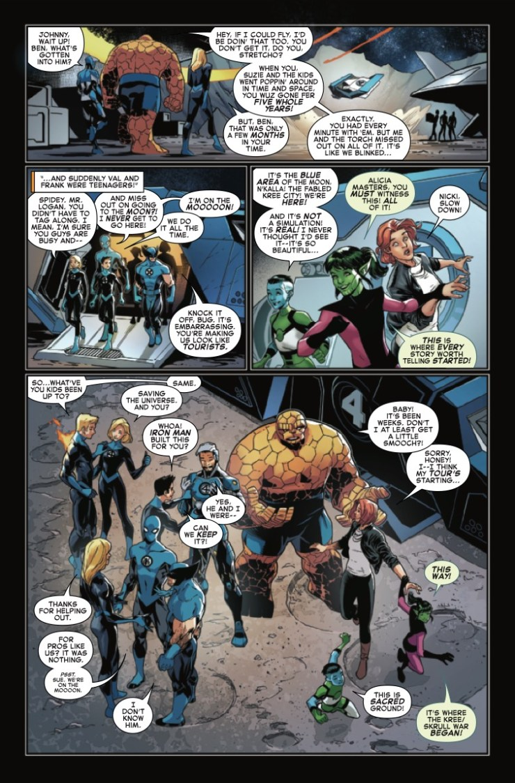 Marvel Preview: Empyre: Fallout Fantastic Four #1