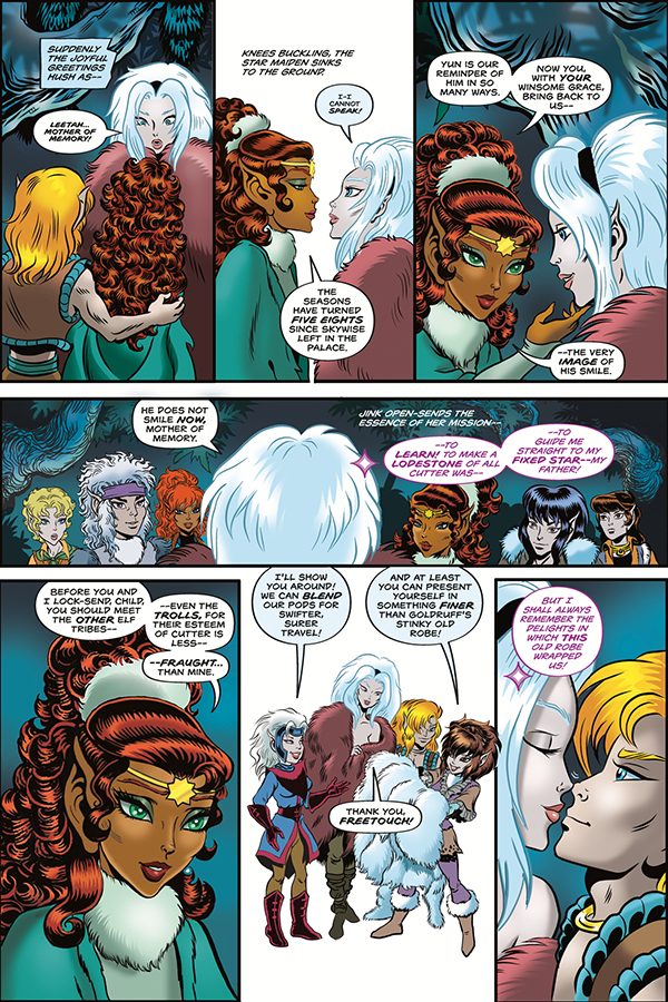 Elfquest: Stargazer's Hunt #4 preview