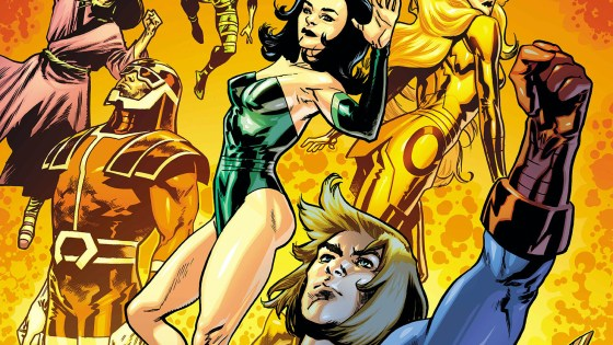 'Eternals' #1 drops in November with four variant covers from superstar artists.