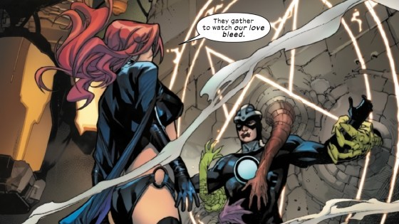 Could a key moment for one of the original X-Men change romantic alliances in Hellions #4?