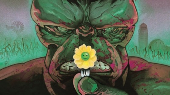 TWO OF COMICS' MOST IMAGINATIVE TALENTS UNITE FOR A IMMORTAL HULK TALE LIKE NONE OTHER!
