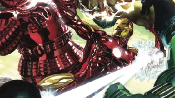 In Iron Man #1, Tony Stark is looking to restart his engine.