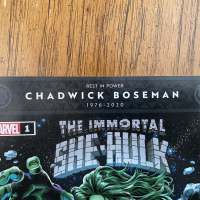 Marvel Comics to honor Chadwick Boseman with comic cover banner