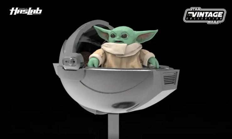 Razor Crest Baby Yoda