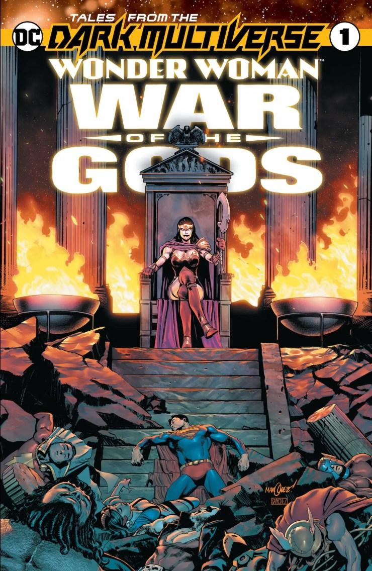 DC Comics reveals three new Dark Multiverse titles for December 2020