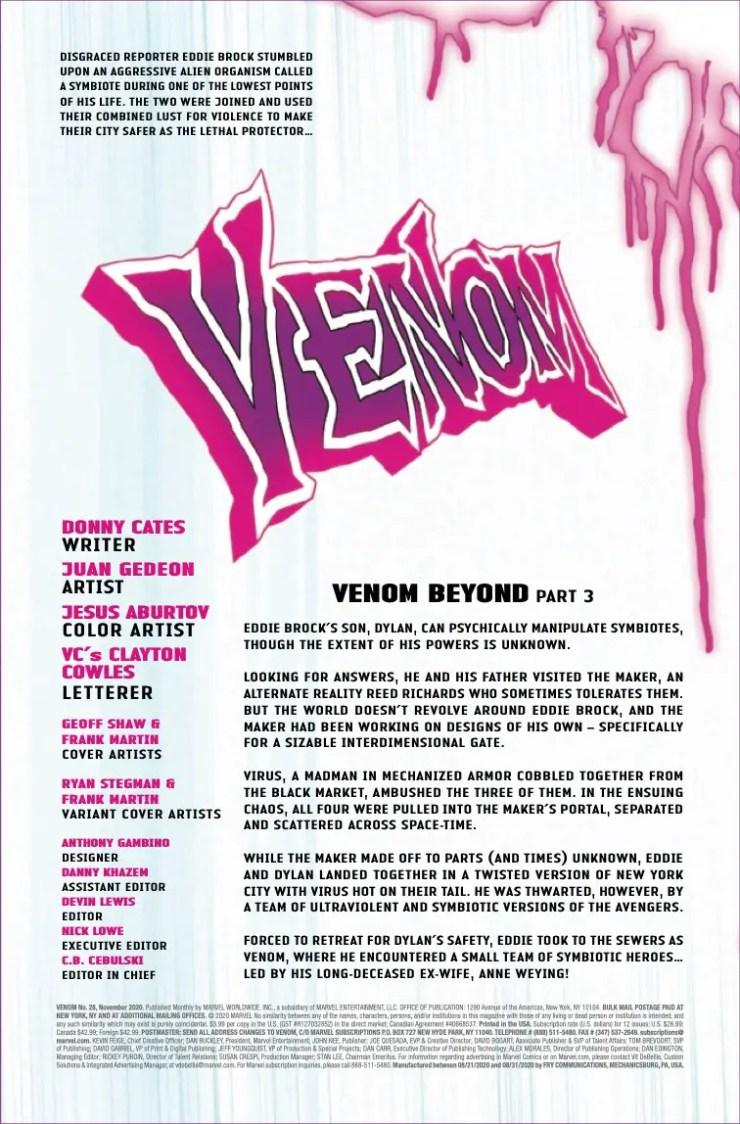 Marvel Preview: Venom #28