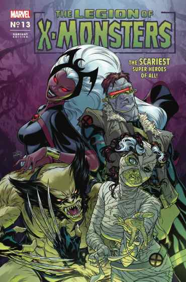 X-MEN 13 LEGION OF X-MONSTERS HORROR VARIANT