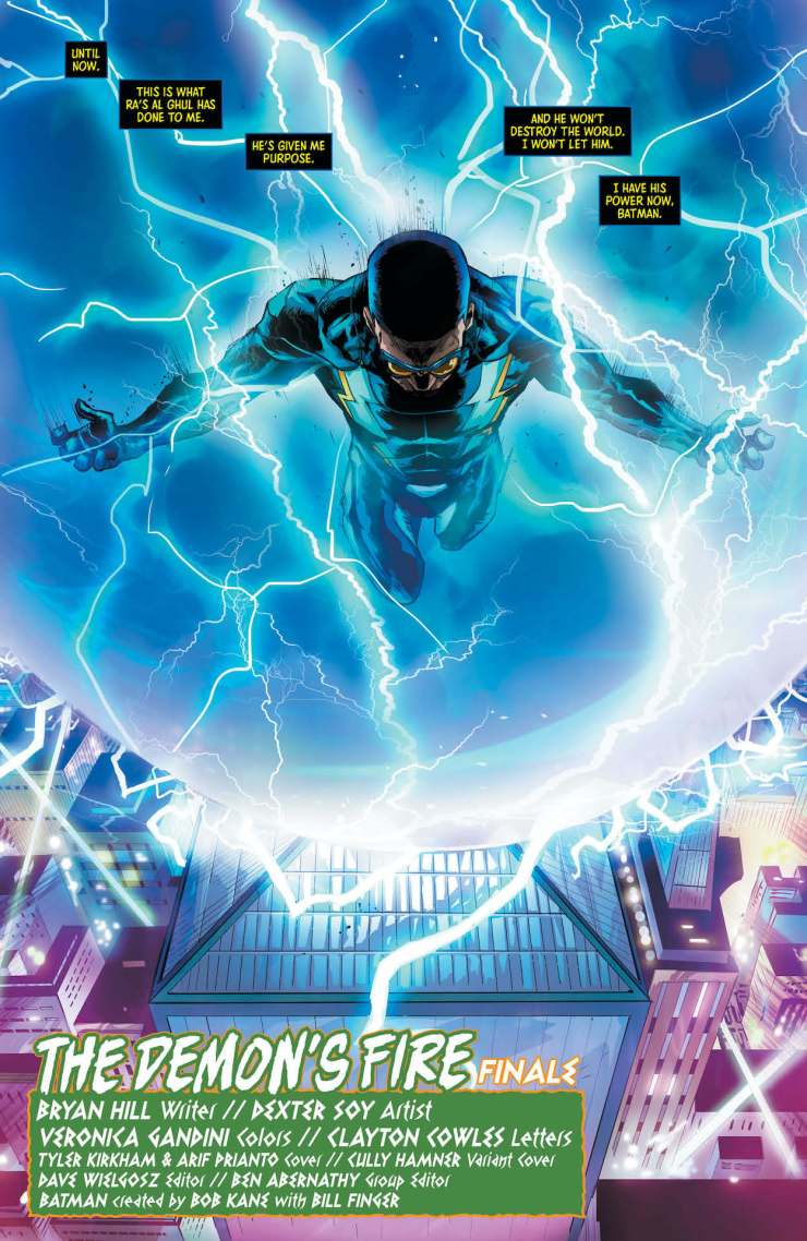 DC Preview: Batman and the Outsiders #16