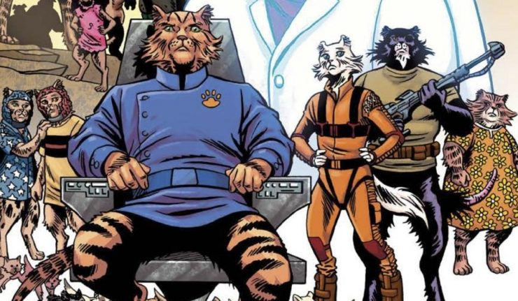 Stuart Moore on 'Captain Ginger', cats and dogs, and classic sci-fi