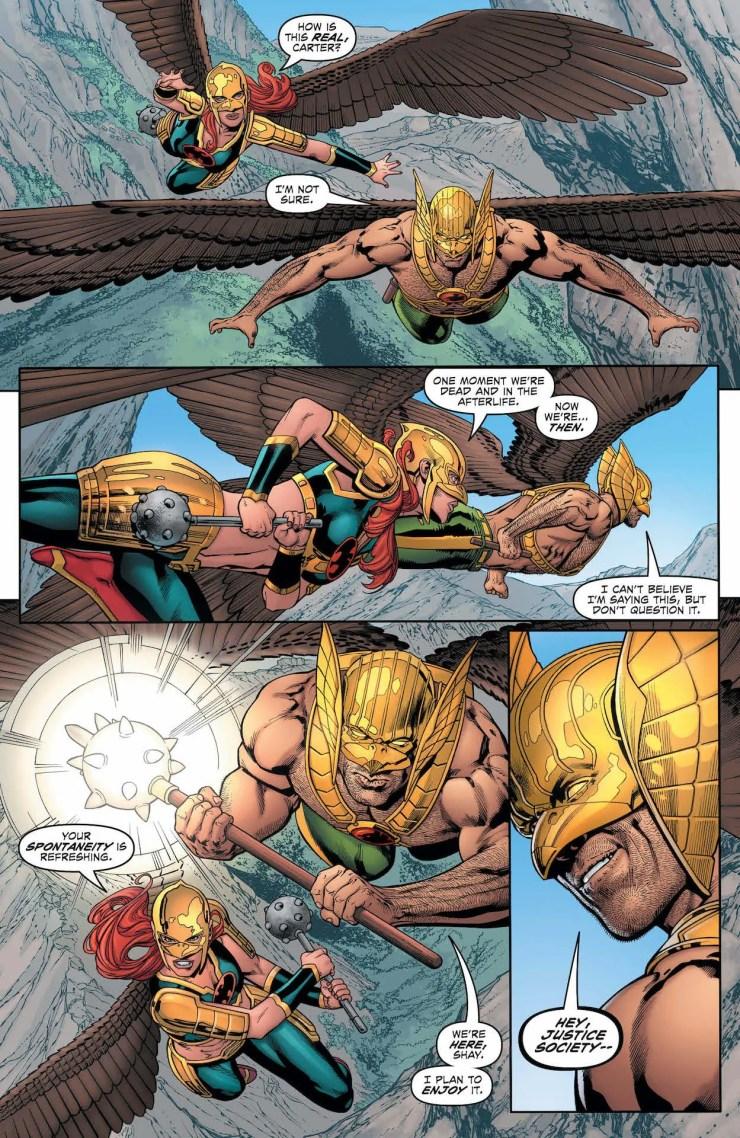 DC Preview: Hawkman #27