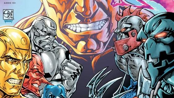 DC Preview: Metal Men #10