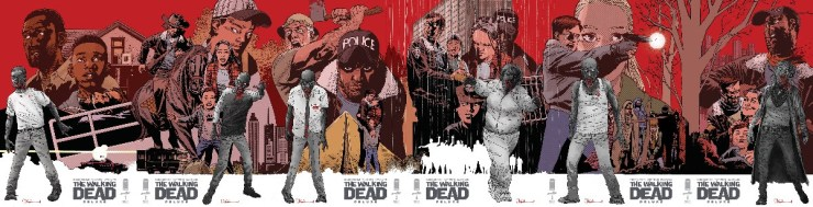 The Walking Dead connecting cover