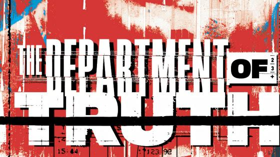 James Tynion IV and Martin Simmonds' The Department of Truth is rushing back to print.