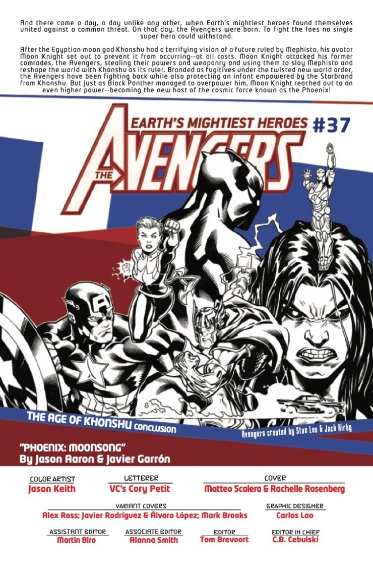 Marvel Preview: Avengers #37
