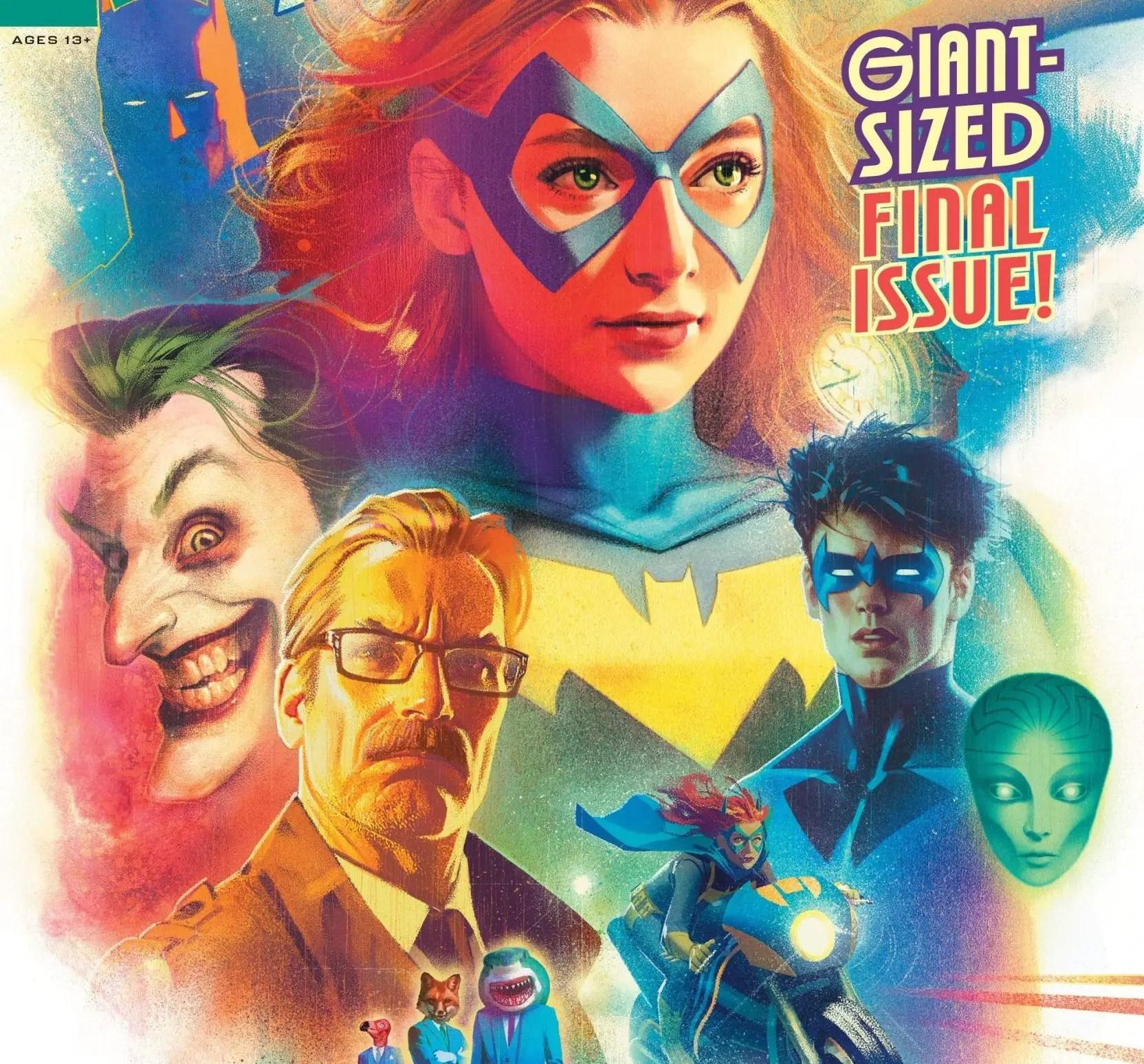 'Batgirl' #50 review: an uneven but heartfelt finale