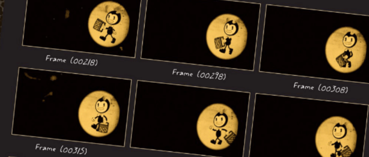 Bendy and the Ink Machine Film Strips