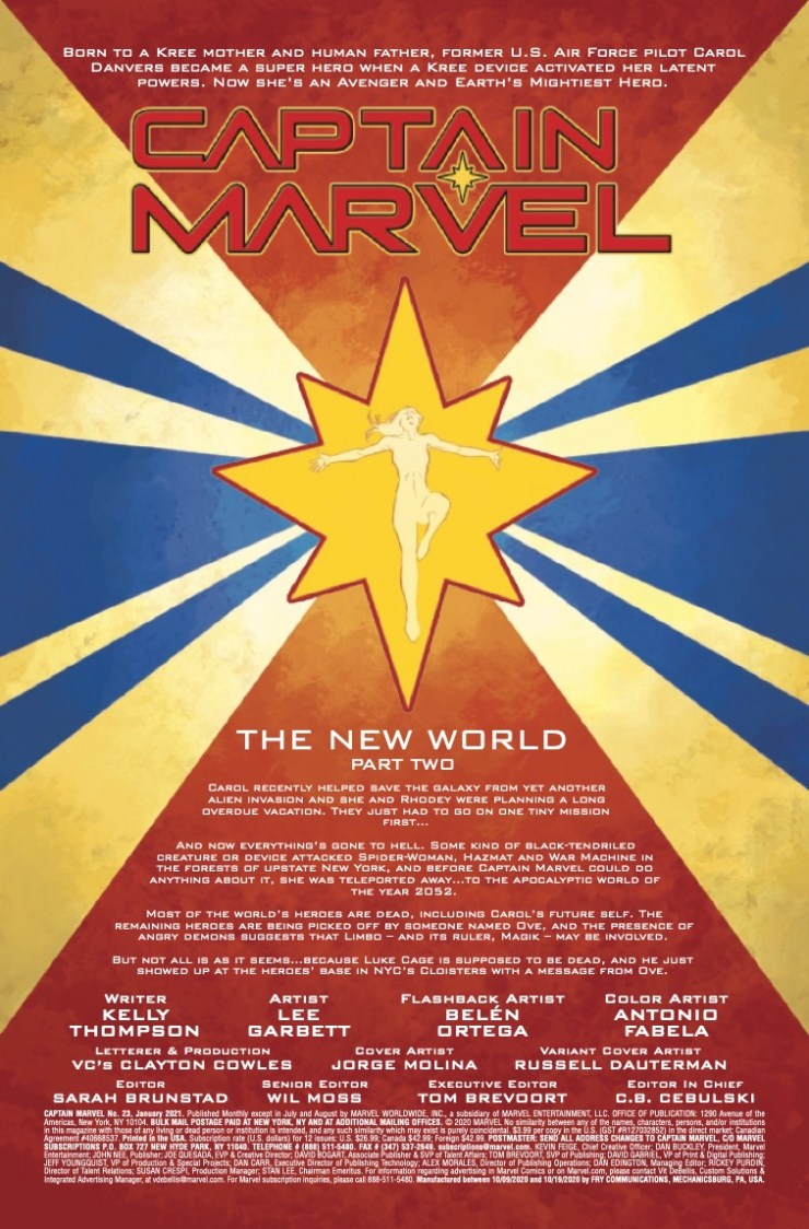 Marvel Preview: Captain Marvel #23