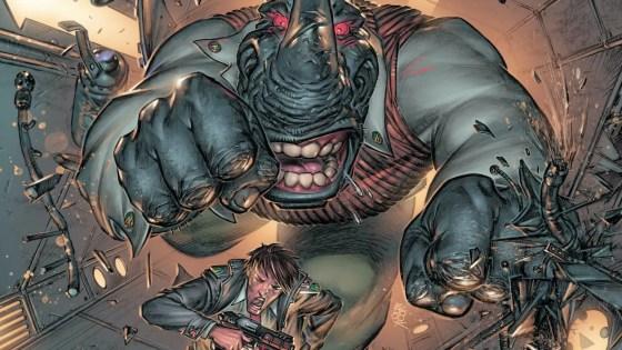 DESERT BREEZES in the comiXology Originals Elephantmen 2261 Season Three #4.