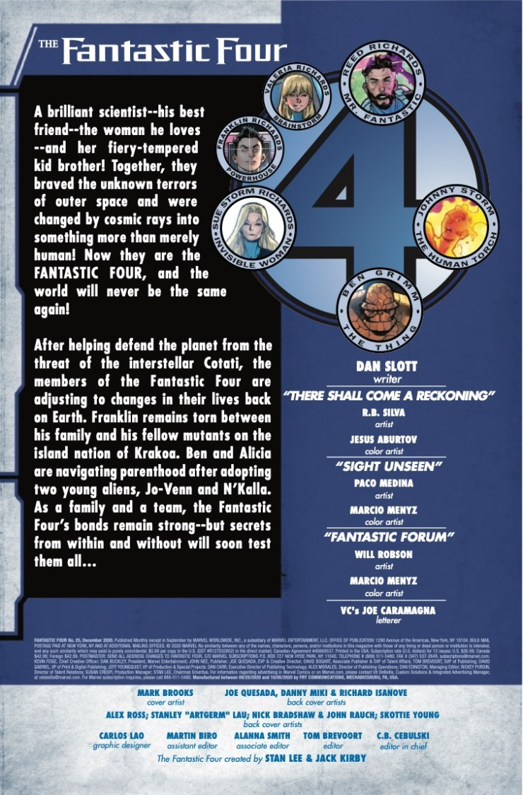 Marvel Preview: Fantastic Four #25