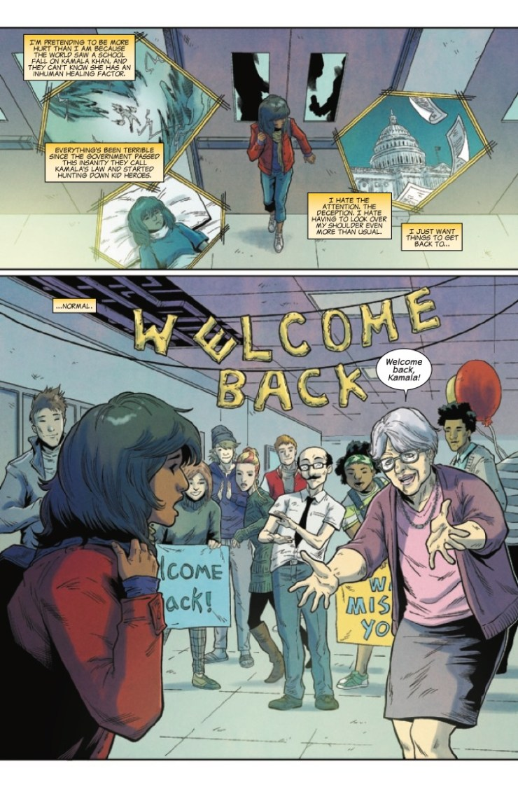 Marvel Preview: Ms. Marvel #15